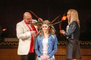 Jorma ja Jenni lavalla